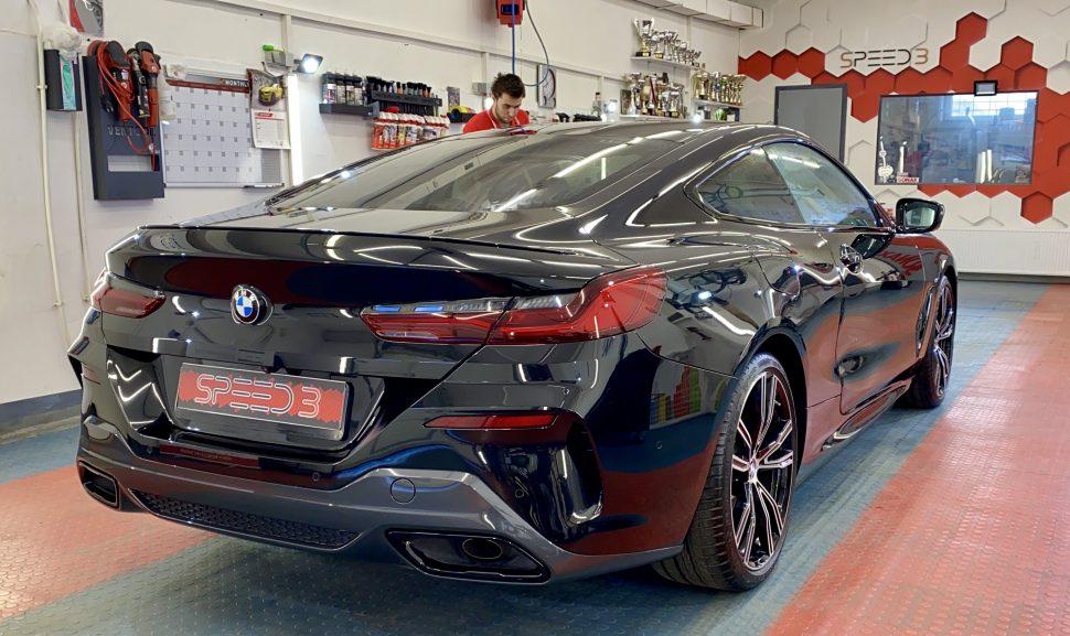 BMW 8 apstrādāts ar Gtechniq